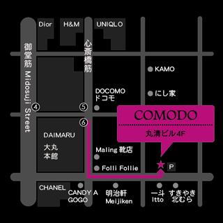 comodo map